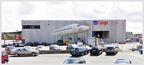 Bergen Lufthavn Flesland--Hentes på Jetpak/Spirit Air Cargo Handling