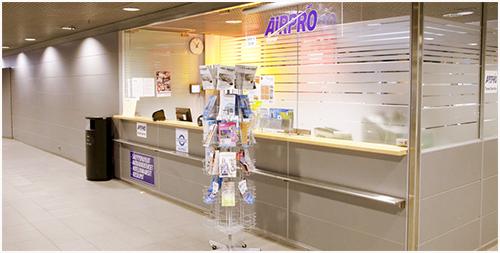 Helsinki-Vanta Airport--Hentes på AIRPRO Travel Service 24h