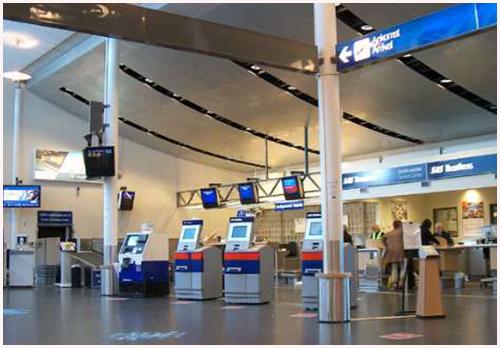 Molde Lufthavn Årø--Hentes på Jetpak/SAS Cargo