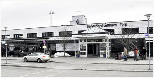 Sandefjord Lufthavn Torp--Hentes på Servicekontoret